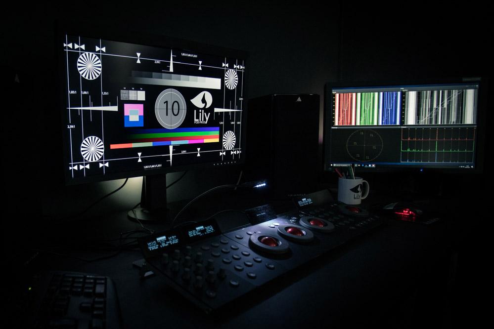 Etalonnage HD/UHD, 2K/4K